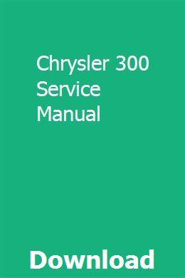 Chrysler 300 Service Manual Manual Triumph 900 Electrical Diagram