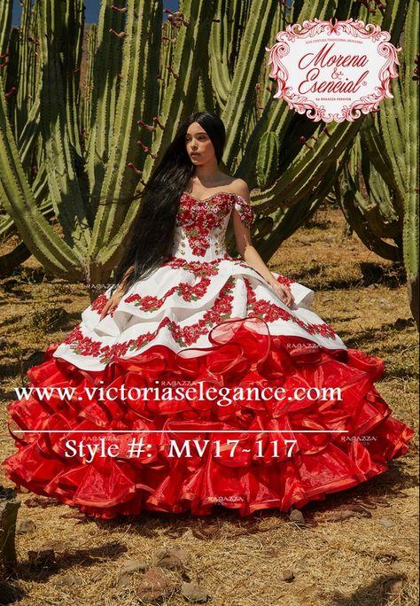 Charro Embroidered & Hand Beaded Dress