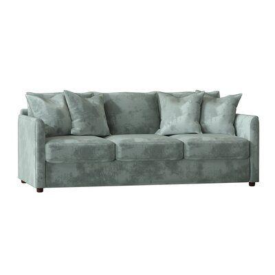 Allmodern Custom Upholstery Alice Cotton 85 Square Arm Sofa Upholstery All Modern Kids Pillows