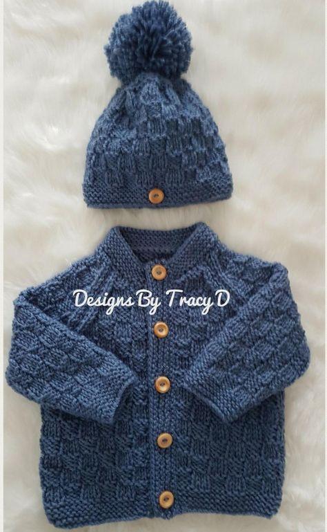 Thomas Baby Cardigan Hat Booties Knitting Pattern To Fit - ! thomas baby cardigan hat booties knitting pattern to fit -