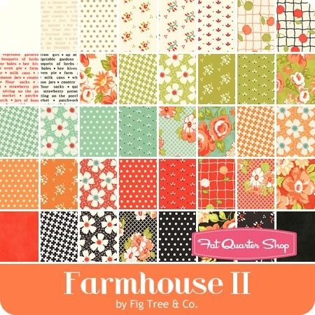 Catalina Charm Pack by Joanna Figueroa of Fig Tree Quilts; 42-5 Inch Precut Fabric Quilt Squares