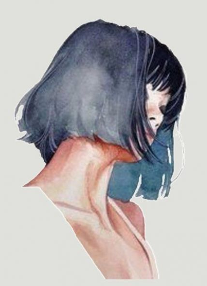27 Ideas Painting Tumblr Watercolor Watercolour For 2019 Pulp Fiction Hair Illustration How To Draw Hair