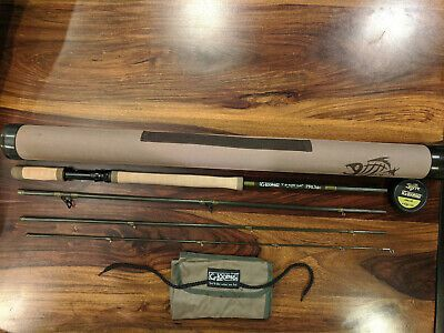 Ad Ebay G Loomis Pro4x Long Handle Predator 10 11wt 9ft 4 Piece Fly Rod In 2020 Long Handles Fly Rods Rod