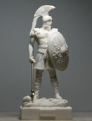 Ares Mars Greek Roman God Of War Handmade Statue Sculpture Figure 7 09in 18cm Greek God Of War God Of War Figurative Sculpture