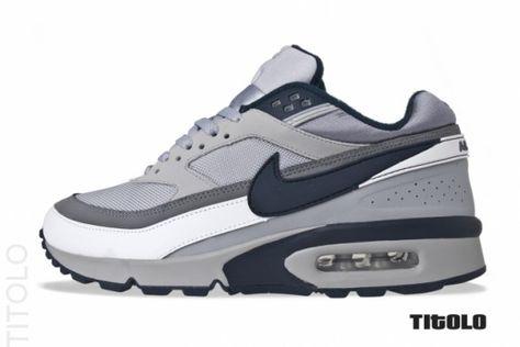 Nike Air Classic BW Wolf Grey Obsidian | Nike air, Nike