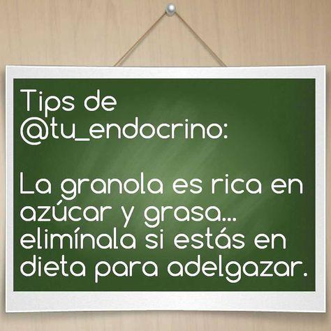 Endocrino dieta para adelgazar