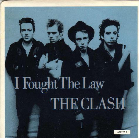 Clash - I Faught The Law-1979