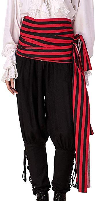 Pirate Dressing Pirate Medieval Renaissance Halloween Costume Large Sash