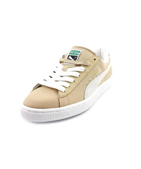 reputable site 23123 af05e PUMA Puma Basket Classic Cvs Blur Men Round Toe Canvas Nude Sneakers'. #puma  #shoes #sneakers