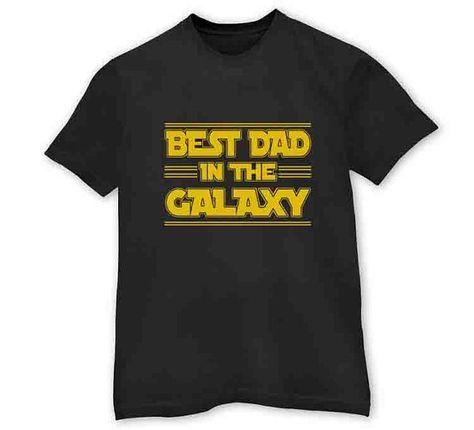 Best Dad In The Galaxy  Men's T-Shirt