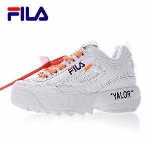 Fila Shoes | Fula Disruptor 11 Orange Tennis Shoes 7.5