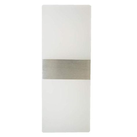 FEATURES Modern Design This super bright 12W LED wall sconce, designed with an acrylic material and elegant features, can be used for the hallway, staircase, bedroom, bathroom, corridor, balcony, stairs, and so on. It is a perfect match with modern, simple, and contemporary style. High-Quality The whole lamp is made of acrylic and pure aluminum, Outward appearance looks more Fantastic and Advanced.12W High Brightness LEDs and the life of the wall light up to 30000 hours. Energy Saving Design Thi