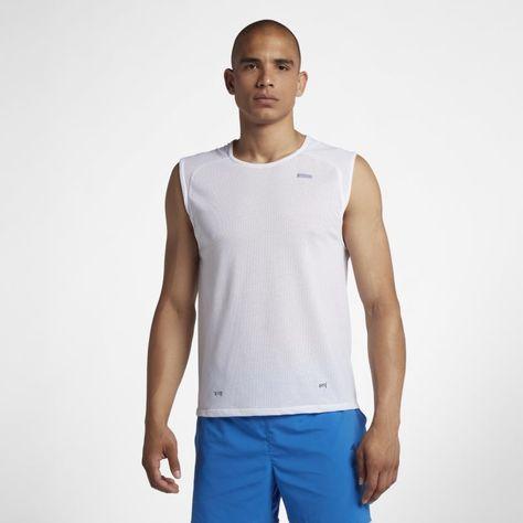 89e3a8cd Breathe Elite Men's Sleeveless Basketball Top | Products | Tops, Mens tops,  Nike