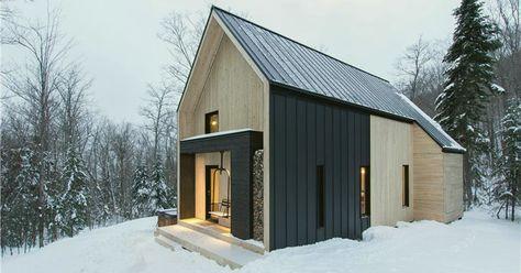 Épinglé par Strikto, concevez votre maison sur Maison bois moderne ...