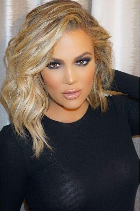 Image By L U X U R Y I S T H E L I F E I D E S I R E Hair Styles Khloe Kardashian Hair Hair