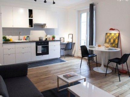 Avant Apres Petit Budget Et Grands Bouleversements Pour Un 40 M2 Amenagement Petit Appartement Deco Petit Appartement Amenagement Cuisine Ouverte