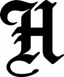 Letter h fonts dolapgnetband letter h fonts thecheapjerseys Images