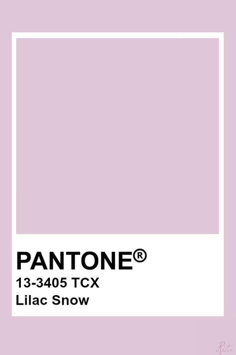 Pantone Lilac Snow