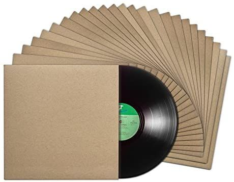 Amazon Com Tunephonik 12 Inch Vinyl Record Lp Jackets With Spine Kraft Finish And No Center Hole 25 Pack Made In L In 2020 Vinyl Records It Is Finished Lp Jacket