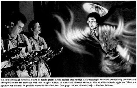 Ghostbusters behind the scenes