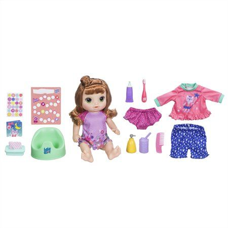 Baby Alive Once Upon A Baby Forest Luna Baby Doll Kids Play Doll Brown Hair