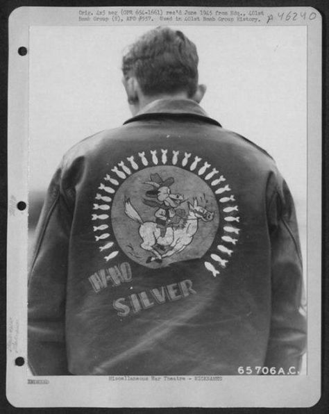 Personalized Air Force Bomber Jackets from WWII. For Danny