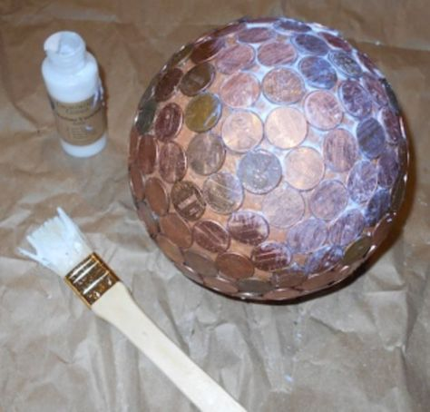 Penny balls are quick and easy to make! They look beautiful in your garden, and they also repel slugs and will make hydrangea flowers blue. I found many samples…
