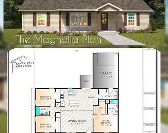 Building A House Discover The Patagonia 30x30 The Patagonia 30x30 Etsy In 2020 House Plans Floor Plans Building A House