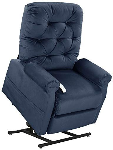 Mega Motionclassica Power Lift Chair Recliner Navy Curbside