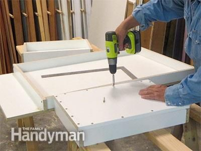 Build An Outdoor Table With Quikrete Countertop Mix Diy Concrete