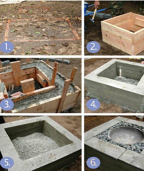 increíbles ideas de patio pequeño Patios Increbles Ideas De Bricolaje Para Fogatas Que Marcan