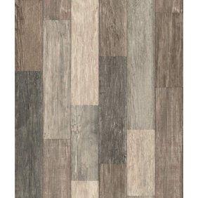 Brewster Barn Board Brown Thin Plank Wallpaper Walmart Com Dark Weather Peel And Stick Wallpaper Weathered Wood