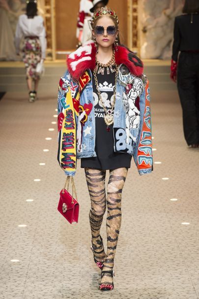 Dolce & Gabbana Autumn/Winter 2018 Ready To Wear | British Vogue