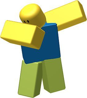 Dabbing Noob, Roblox Meme | Sticker (With images) | Roblox memes ...