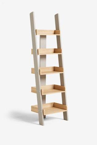 Malvern Ladder Shelf In 2020 Ladder Shelf Shelves Bookcase Shelves