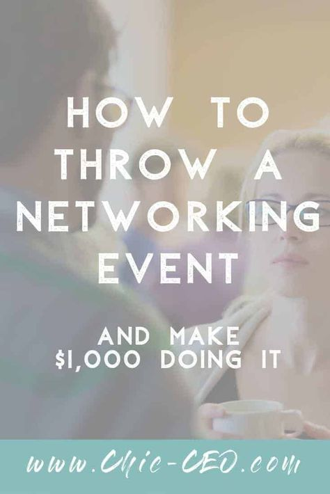 This step by step guide is exactly how we started throwing our own networking events and making money doing it. Grow your local tribe by bringing them all together!