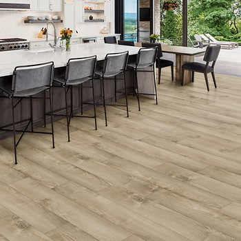 Golden Select Almond Oak 17 29 Cm 6 81, Golden Oak Laminate Flooring Costco