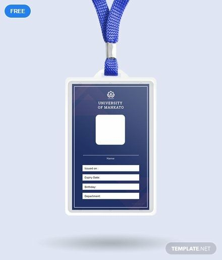 Blank Id Card Template Free Pdf Word Apple Pages Publisher Id Card Template Card Templates Free Business Card Template Design