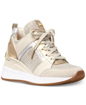 michael kors sneakers beige
