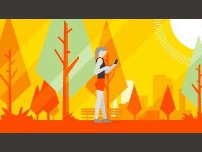 Strava Premium Beacon 1 in 2019   Motion Graphics / Illustrations