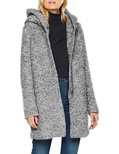 new concept 0b5be dff7a Damen Mantel Onlsedona Boucle Wool Coat OTW Noos ...