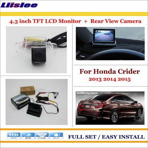 Liislee For Honda Crider 2013-2015 Auto Back UP Reverse ...