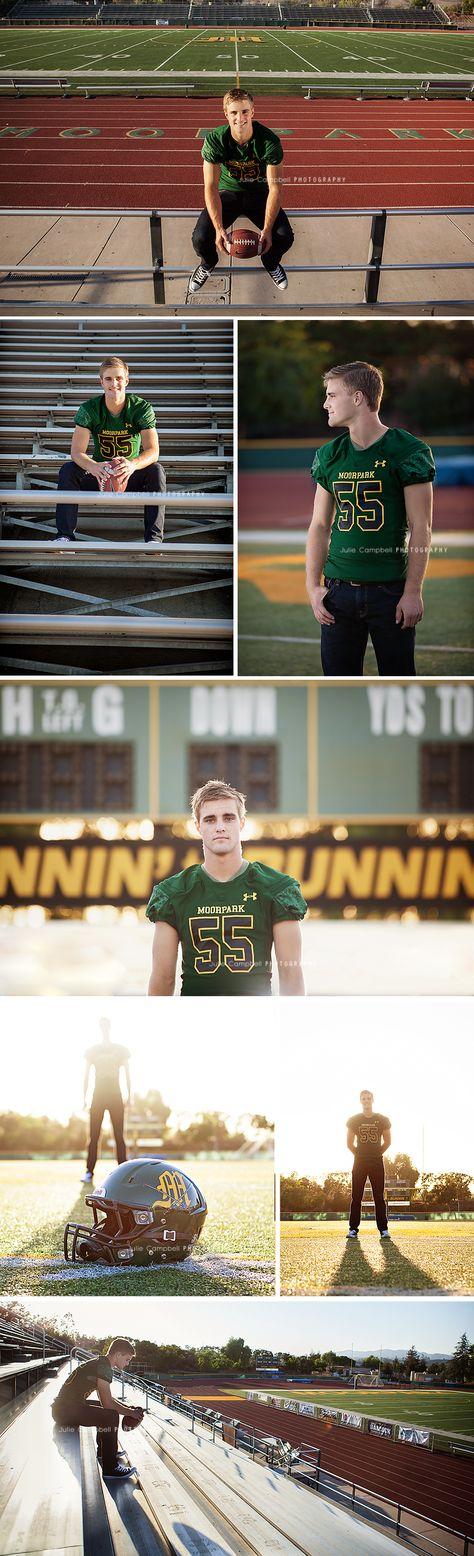 Senior Portraits | Football player | Ventura County, California