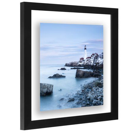 11x11 Black Square Floating Frame Display A Floating Photograph Walmart Com Floating Picture Frames Picture Frame Designs Modern Picture Frames