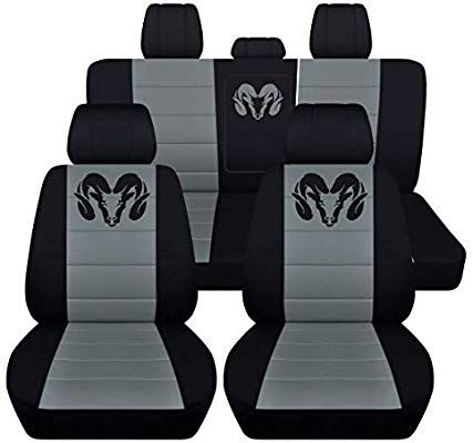Pleasing Amazon Com Fits 2012 To 2018 Dodge Ram Front And Rear Ram Dailytribune Chair Design For Home Dailytribuneorg