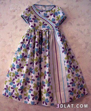 فساتين صيفية للأطفال راقية مجموعة فساتين 3dlat Com 09 18 D4b5 Kids Dress Wear Baby Frocks Designs Girls Frock Design