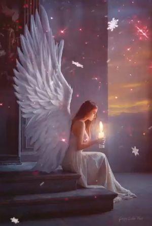 angel hugs to you - Angels Fan Art (34320478) - Fanpop