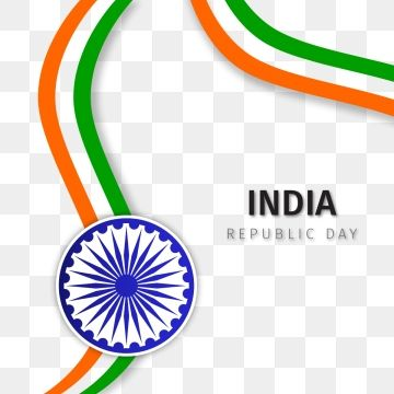 Republic Day With Wavy Shaped India Flag Vector Png And Vector Flag Vector Republic Day India Flag