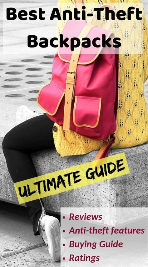 Ultimate guide to buying the best anti theft Backpack 2019 with RFID. Anti  Theft Backpack Review 2b3524d0601db