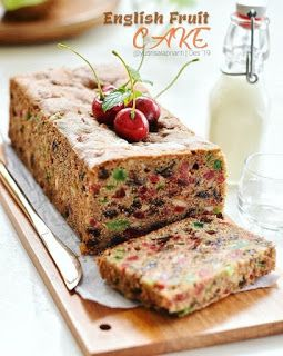 English Fruit Cake Kue Buah Resep Kue Resep
